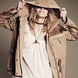 Free People- Golden Tapestry Coat, large